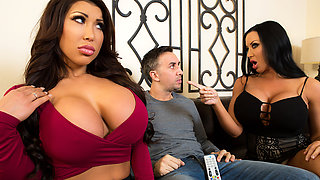 video titel: August Taylor Sybil Stallone Keiran Lee in Sharing Is Caring || porn tgas: 3some,asian,big ass,big tits,