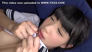 video titel: Japanese schoolgirl in action || porn tgas: action,asian,babe,hardcore,