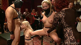 video titel: Birthday Party For The Princess Pt.PublicDisgrace || porn tgas: bdsm,big tits,blonde,group,videotxxx