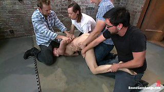 video titel: Brand New Girl Tries Anal and DP for the First Time in Take Down Scene || porn tgas: anal,bdsm,double,first time,upornia