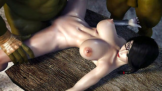 video titel: 3D Hentai Two Orcs find some Sexy Milf in a basement cartoon || porn tgas: 3d,cartoons,hentai,sexy,