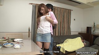 video titel: Asian pervert gives a cunnilingus to yummy girlfriend of elder brother || porn tgas: asian,brother,cunnilingus,girlfriend,anysex