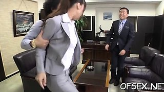 video titel: Office nympho relishes dongs and bonks in the workplace || porn tgas: office,nuvid