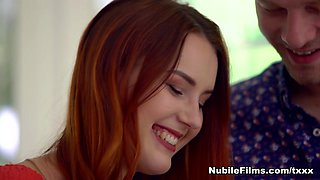 video titel: Charlie Red Michael Fly in Take Notice NubileFilms || porn tgas: creampie,european,office,redhead,hotmovs