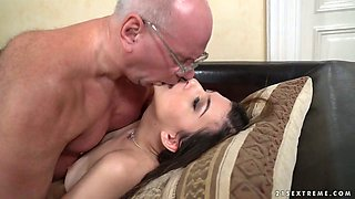 video titel: Buxom slutty Turkish hottie Anya Krey lures older man to ride his cock || porn tgas: cock,hottie,older,riding,xcafe