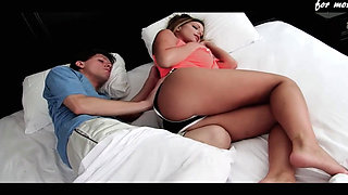 video titel: Stepmom Sharing Bed With Son || porn tgas: american,ass,bed,cheating,