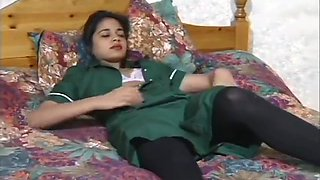 video titel: Sexy Indian Babe Satinder Plays with her Pussy || porn tgas: asian,babe,british,brunette,TubePornClassic_com