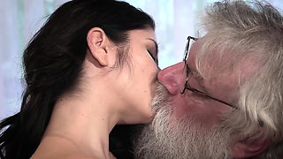 video titel: Old Young Porn Sexy Teen Fucked by old man on the couch    porn tgas: brunette,couch,doggy,european,iceporn
