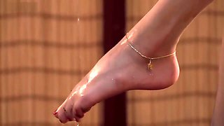 video titel: ligui tea and feet || porn tgas: asian,fetish,foot,japanese,