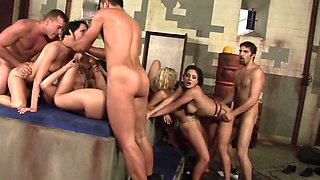 video titel: Aggressive orgy || porn tgas: aggressive,group,orgy,party,